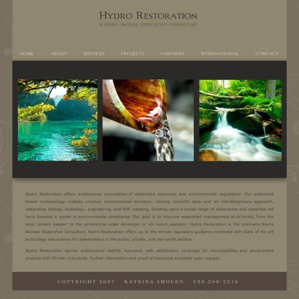 hydrorestoration