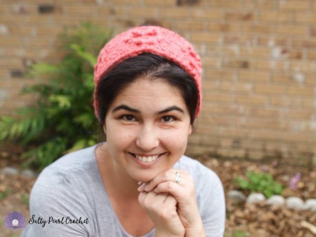 Free Crochet Headband Pattern Chunky Cabled Heart Ear Warmer