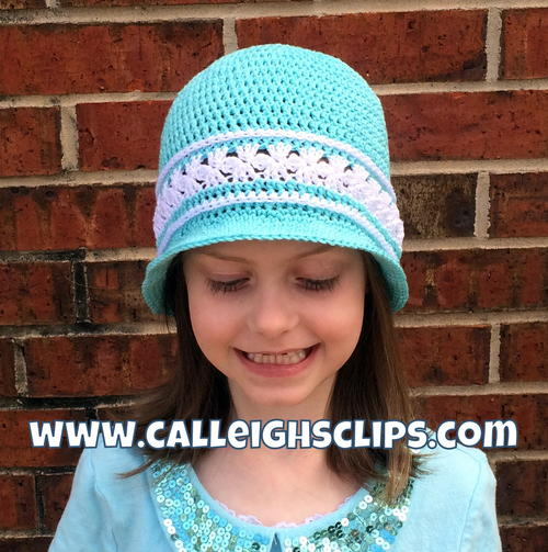 7 Free Crochet Sun Hat Patterns For Children Salty Pearl Crochet