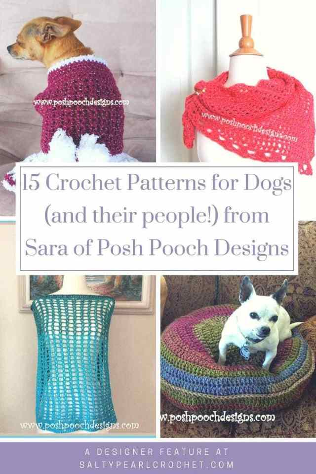 15 Crochet Patterns For Pets And Their People By Sara At Posh