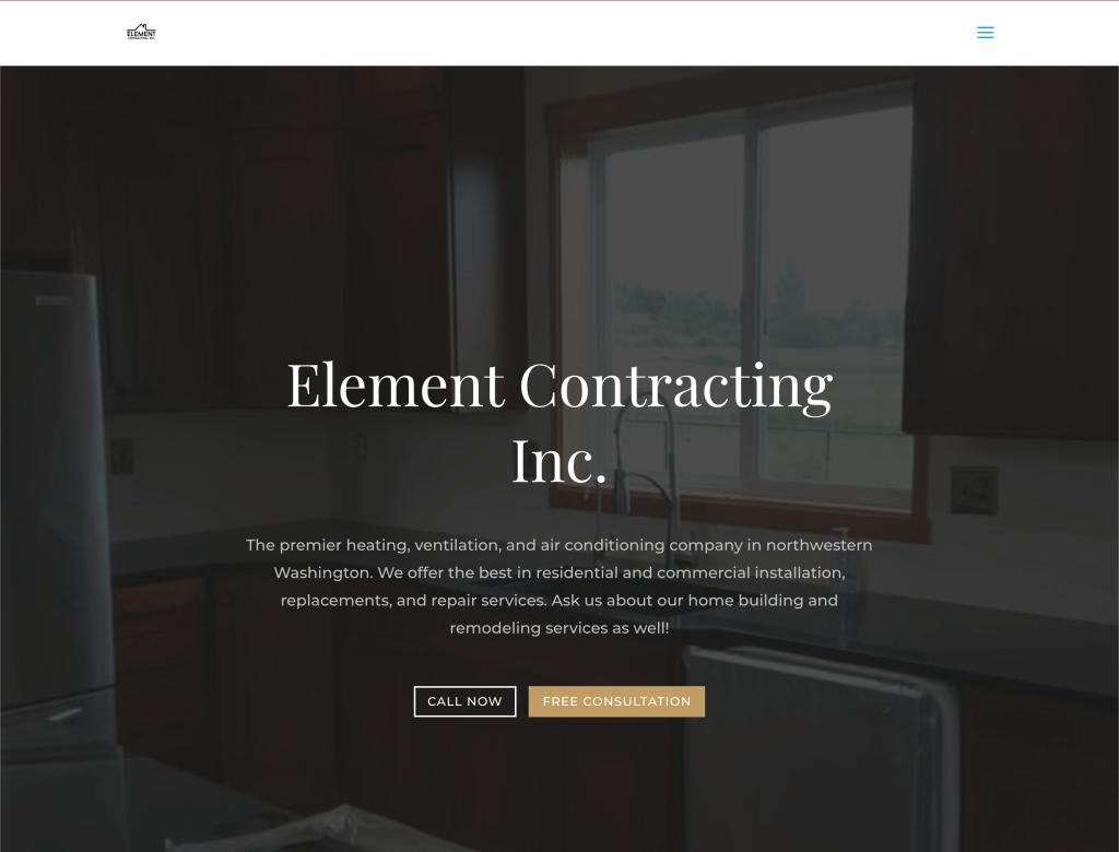 Element Contracting Inc