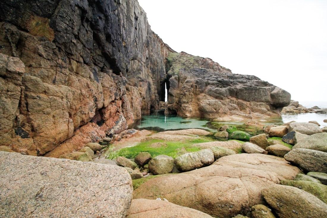 Nanjizal rocks