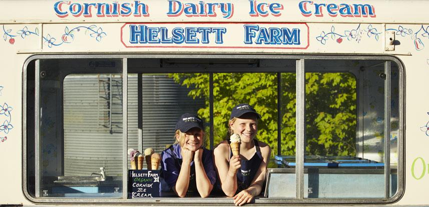 Helsett Farm Ice cream
