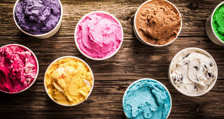 Roskillys farm ice cream