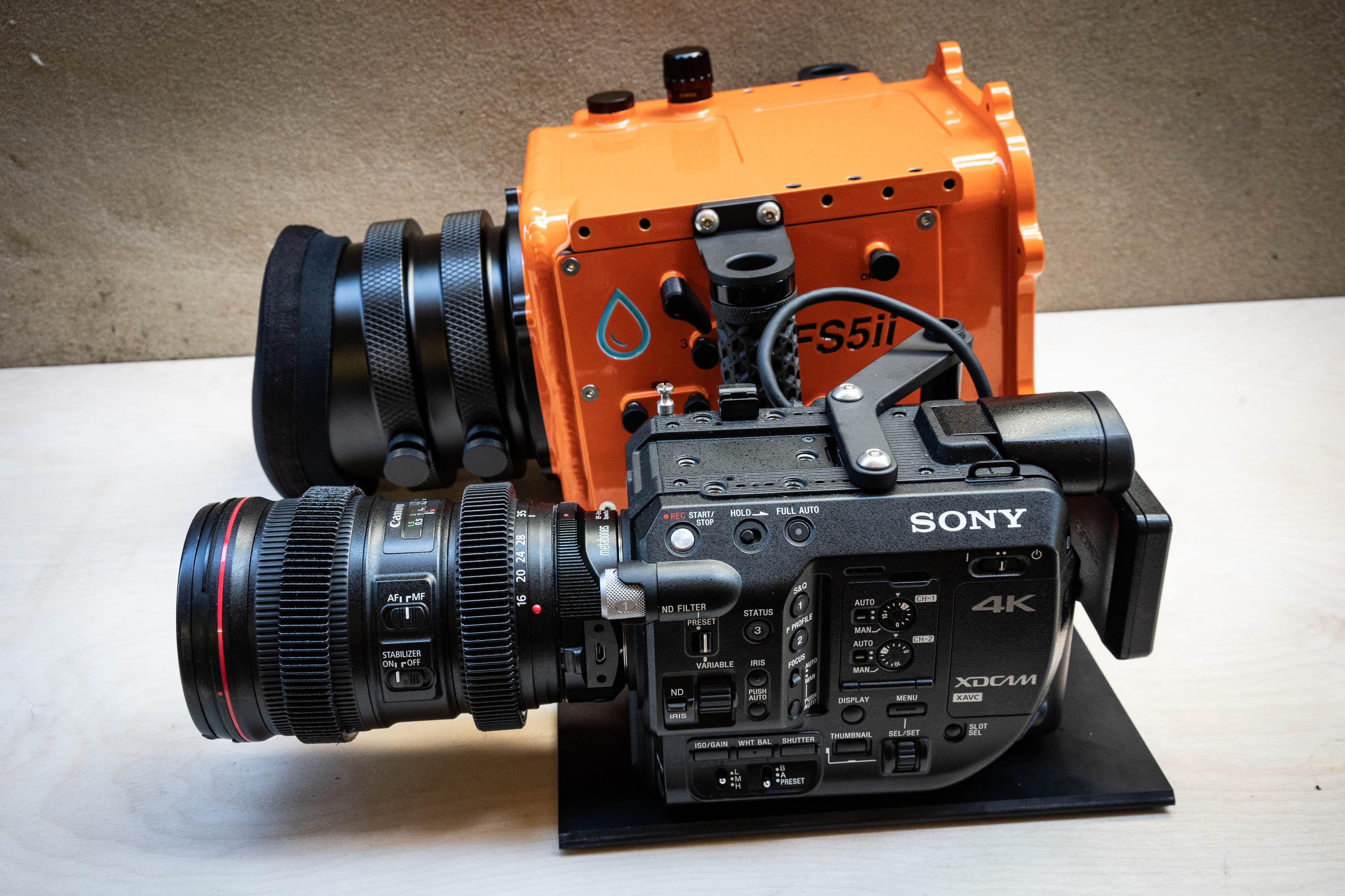 Sony FS5/FS5ii Housing