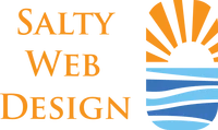 salty web design logo