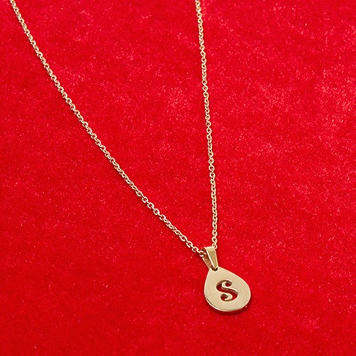Salty branded necklace