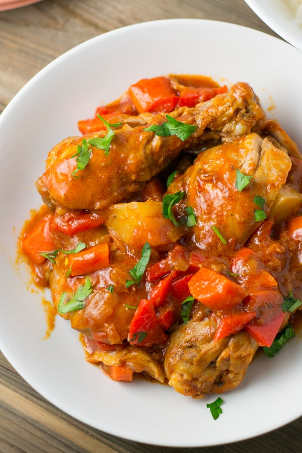 Salu salo recipes simple and delicious recipes chicken afritada forumfinder Choice Image