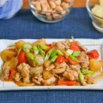 Chicken with Pineapple and Cashews