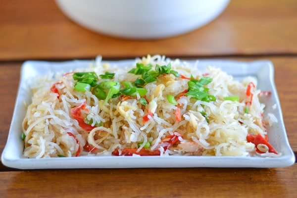 Vermicelli and Crab