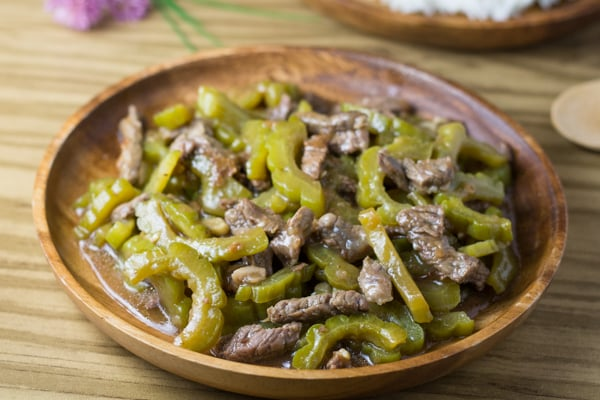 Ampalaya con Carne (Beef with Bitter Melon)