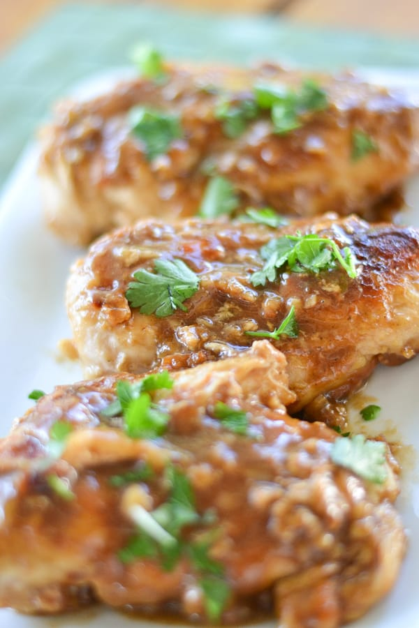 Glazed Balsamic Chicken