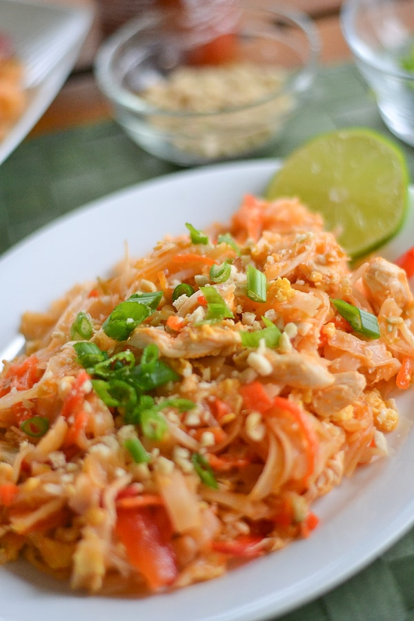 how to make pad thai noodles not stick