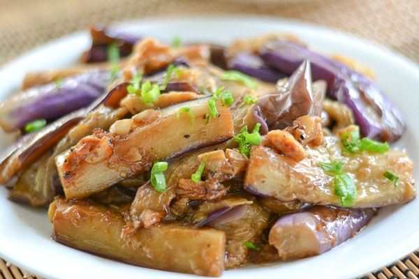 Eggplant adobo salu salo recipes adobo is one of the most popular dishes in the filipino cuisine meat seafood or vegetables are cooked in a sauce consisting of vinegar soy sauce garlic forumfinder Gallery