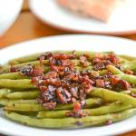 Balsamic Green Beans with Bacon