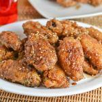 Korean Fried Wings with Sweet Garlic Sauce
