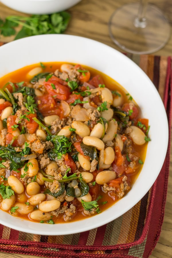Easy Italian Bean Stew - Salu Salo Recipes