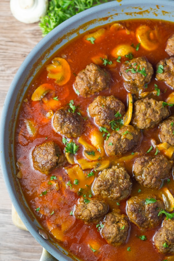 Easy Meatball Goulash