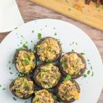 Jalapeno Stuffed Mushrooms
