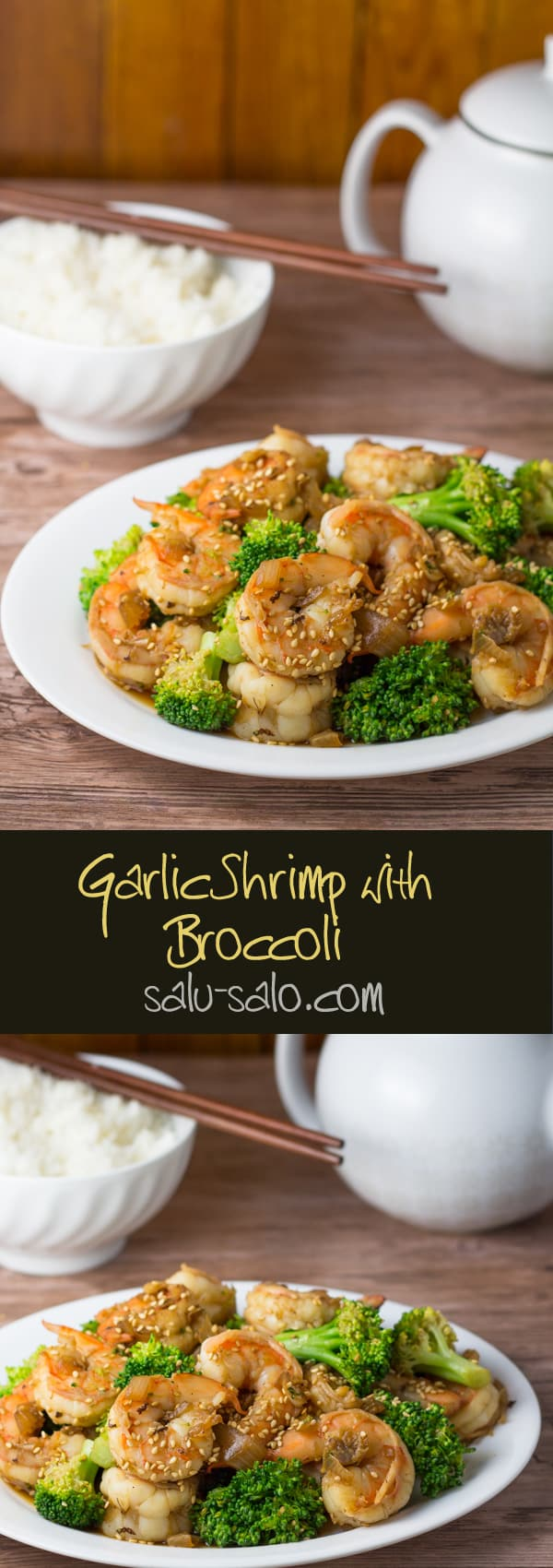 Garlic Shrimp with Broccoli