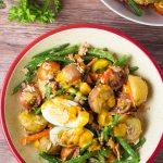 Salad Nicoise with Mango Dressing