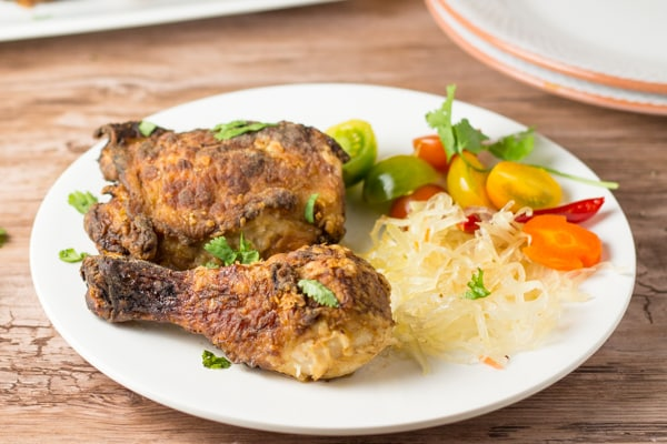 7 Up Marinated Fried Chicken