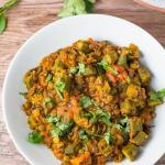 Okra and Lentil Curry