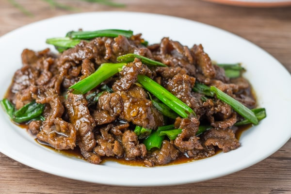 Easy Mongolian Beef