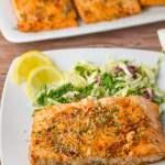 Glazed Sesame Salmon