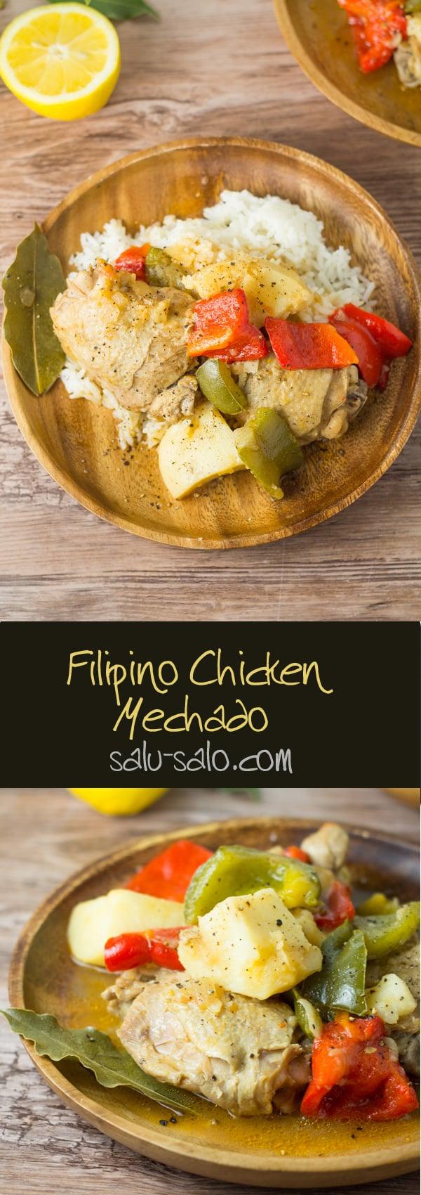 Chicken Mechado
