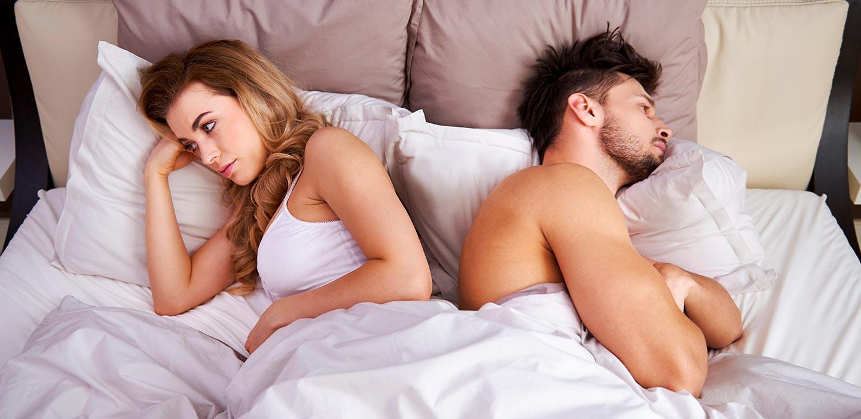 Síntomas de la falta de deseo sexual