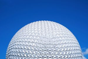 white round ball under blue sky during daytime