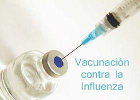 Comunidad al día, Influenza vaccine this season