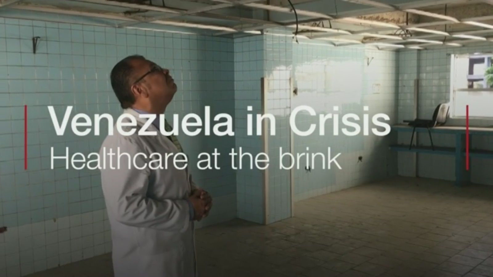 Venezuela crisis Caracas hospital shows sorry state of health system