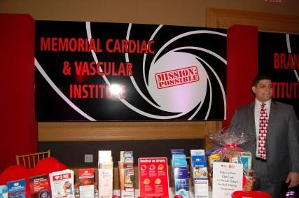 Memorial Cardiac & Vascular Institute Booth