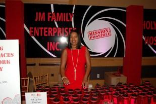JM Family Enterprise Booth