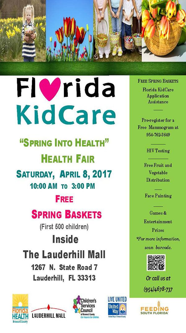 "170408 Florida KidCare ""Spring Into Health"" Health Fair"
