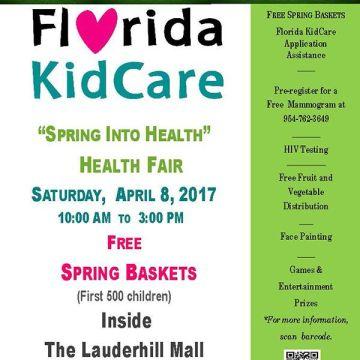 """170408 Florida KidCare """"Spring Into Health"""" Health Fair"""