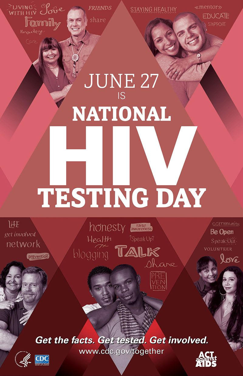 National HIV Testing Day 2017, June 27th