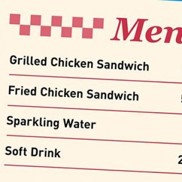 How Many Calories? Keep an Eye on the Menu