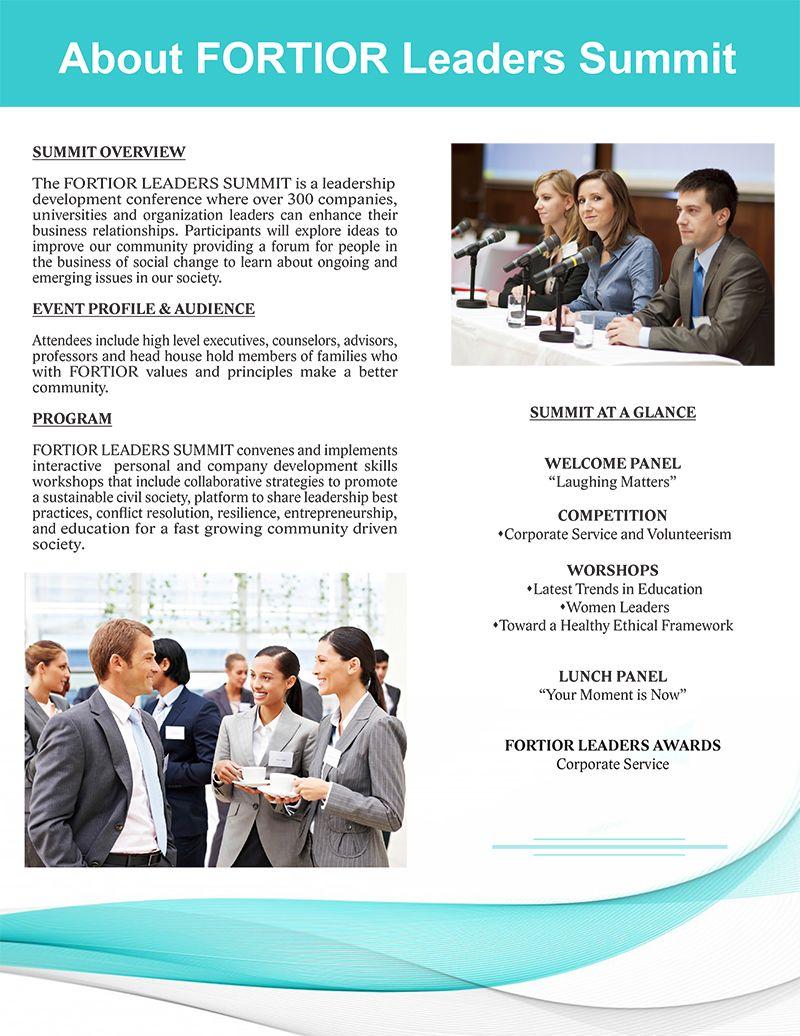 FORTIOR LEADERS SUMMIT Presentation Description 800x1033