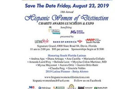 Hispanic Women of Distinction August 23, 2019