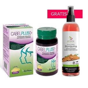 Cabelplus con Ronquina gratis en saludavida