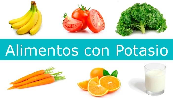 ¿Conoce Bien Cuales son los Alimentos Ricos en Potasio?