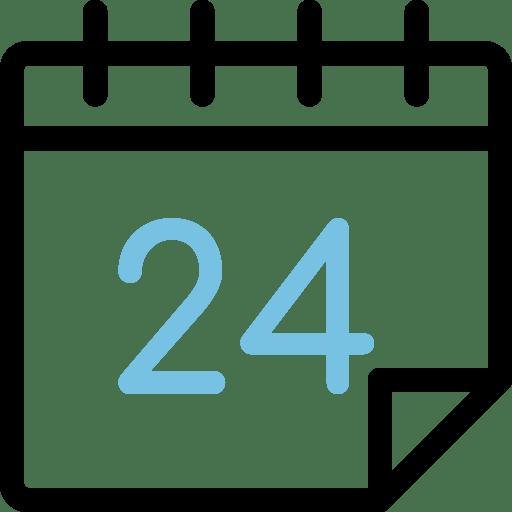 Calendario día 24