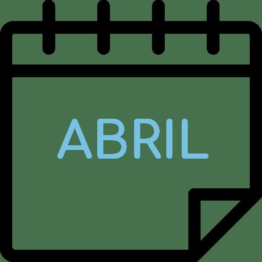 Calendario Abril Días de Salud