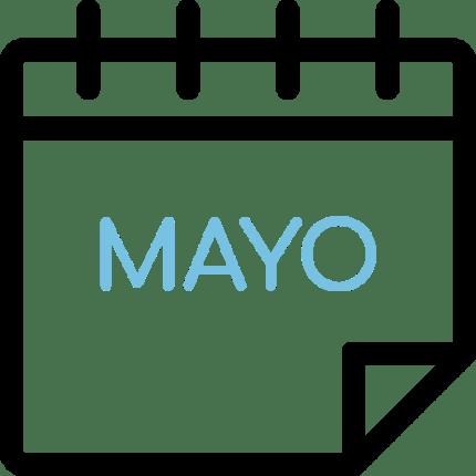 Calendario de Mayo