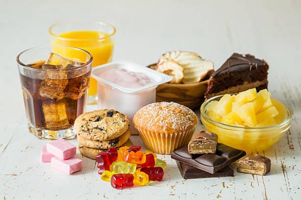alimentos con alto contenido en azúcar