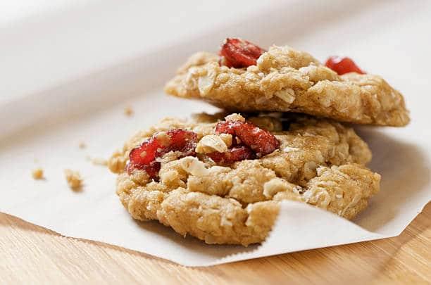 galletas de avena con frutos secos