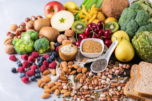 los alimentos que contienen más fibra